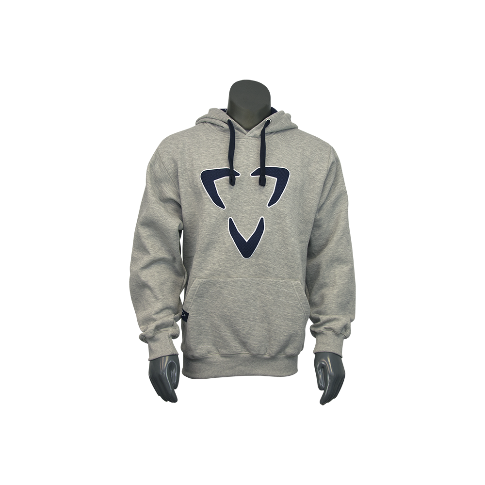 HODLXGRY_BLU-FRONT-Luxe Paintball Hoodie pull over sweatshirt