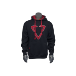 HODLXRED-FRONT-Luxe Paintball Hoodie Pull Over Sweatshirt