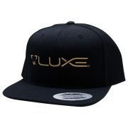 Luxe Paintball Hat Snap Back - Black