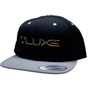 Luxe Paintball Hat Snap Back - Grey