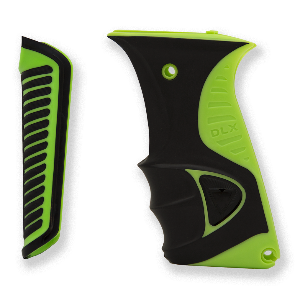 Luxe ICE Paintball Marker Grips - Green
