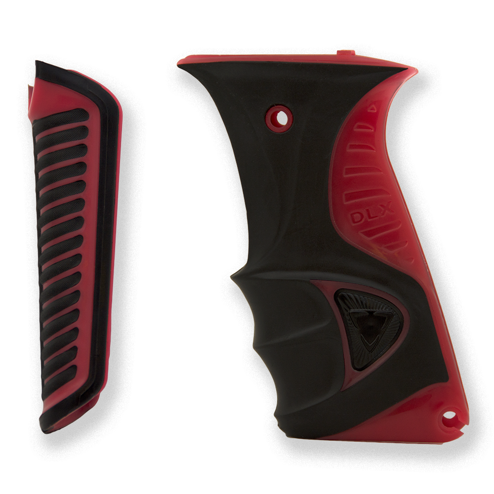 Luxe ICE Paintball Marker Grips - Red